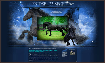 FRIDSE 423 SPORT - KFPS Perm. Approved Friesian Stallion Site Designed by Equine Originals